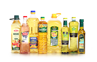 Vegetable oil and vinagre