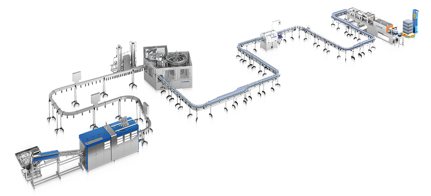 Complete filling line production - PET Technologies