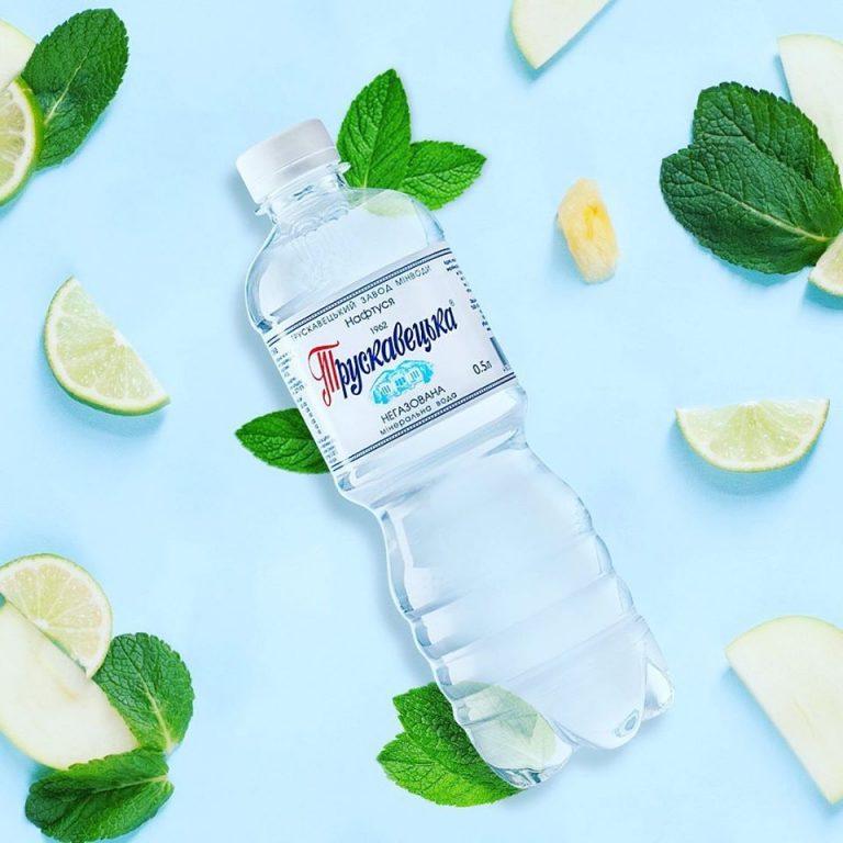 mineral water bottle design